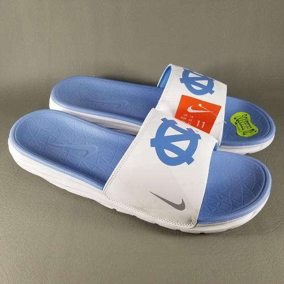 c622ab81c0a Nike Shoes | Unc Tar Heels Benassi Solarsoft Slides Men 11 | Poshmark
